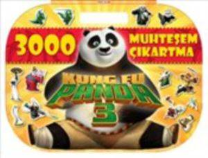 Kung Fu Panda 3 : 3000  Muhteşem Çıkartma