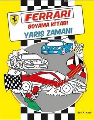 Ferrari Boyama Kitabı - Yarış Zamanı