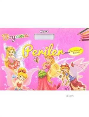 Çanta Boyama Çıkartmalı Kitap-Prensesler