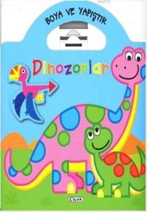 Dinozorlar Mavi; Boya Ve Yapıştır