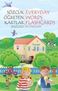 Sözcük Öğreten Kartlar İngilizce