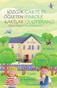 Sözcük Öğreten Kartlar İtalyanca