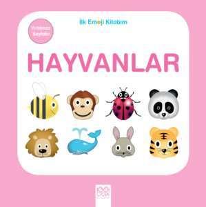 İlk Emoji Kitabım<br/>- Hayvanlar