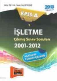 KPSS-A İşletme Çıkmış Sorular 2001-2012
