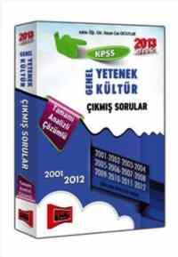KPSS Genel Yetenek Genel Kültür Çıkmış Sorular 2001-2012