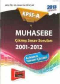 KPSS-A Muhasebe Çıkmış Sorular 2001-2012
