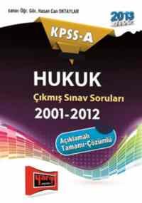 KPSS-A Hukuk Çıkmış Sorular 2001-2012