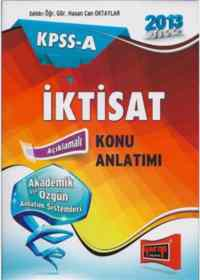 KPSS-A İktisat Konu Anlatımı 2013