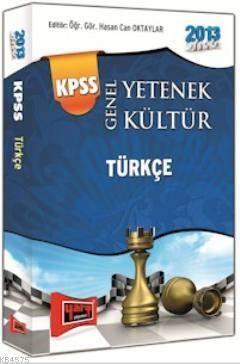 KPSS Genel Yetenek Türkçe Konu Anlatımlı Cep Kitabı 2013