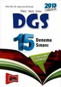 DGS 15 Deneme Sınavı 2013