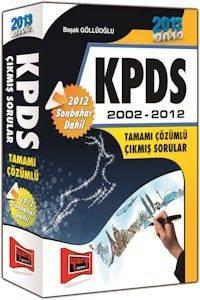 KPDS 2002-2012 Tamamı Çözümlü Çıkmış Sorular