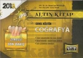 2013 KPSS Genel Kültür Coğrafya