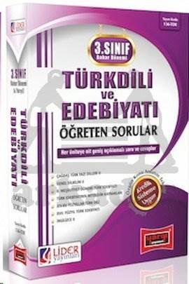 3. Sınıf Bahar Dönemi Türk Dili ve Edebiyatı Öğreten Sorular