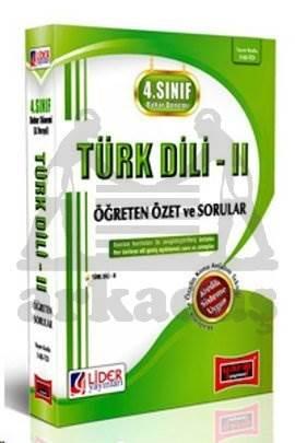 4. Sınıf Bahar Dönemi Türk Dili 2 - Özet ve Sorular