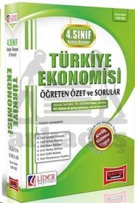 4. Sınıf Bahar Dönemi Türkiye Ekonomisi Öğreten Özet ve Sorular