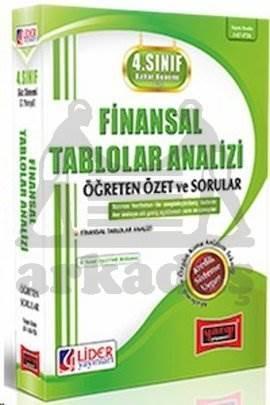 4. Sınıf Finansal Tablolar Analizi Öğreten Özet ve Sorular