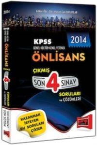Yargı KPSS Önlisans Çıkmış Son 4 Sınav Soruları Ve Çözümleri 2014
