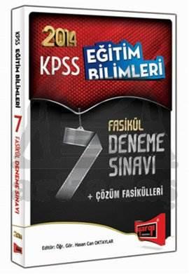 Yargı KPSS Eğitim Bilimleri 7 Fasikül Deneme Sınavı ve Çözümleri 2014
