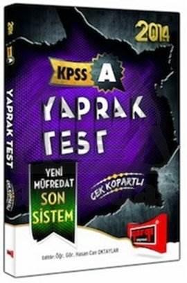 KPSS A 2014 ÇEK KOPART YAPRAK TEST yargı yay
