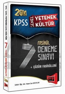 Yargı KPSS Gy - Gk 7 Fasikül Deneme Sınavı ve Çözümleri 2014