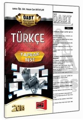 Yargı KPSS ÖABT Türkçe Yaprak Test 2014