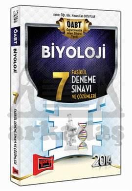 Yargı ÖABT Biyoloji 7 Fasikül Deneme Sınavı ve Çözümleri 2014