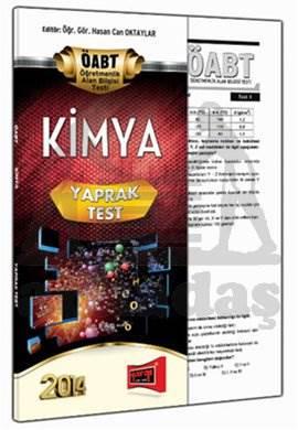 Yargı KPSS ÖABT Kimya Yaprak Test 2014