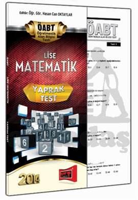 Yargı KPSS ÖABT Lise Matematik Yaprak Test 2014