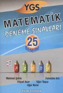 YGS Matematik Deneme Sınavları 25 Deneme