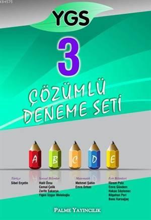YGS 3 Çözümlü Deneme Seti