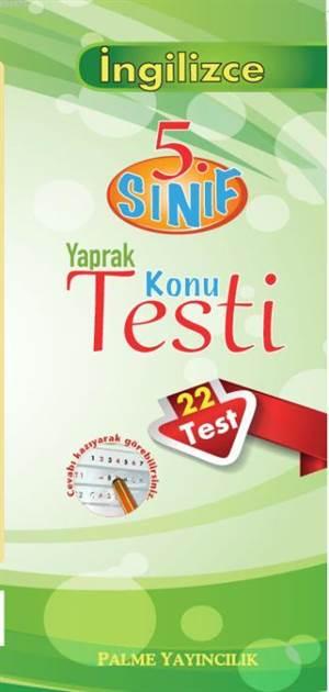 5.Sınıf Yaprak Konu Testi