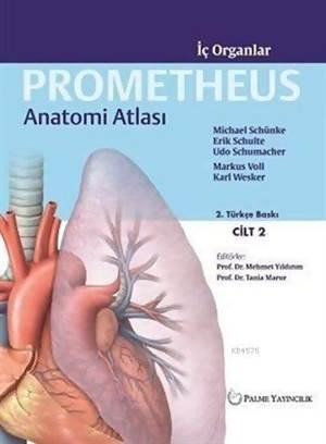 Prometheus Anatomi Atlası Cilt 2; İç Organlar