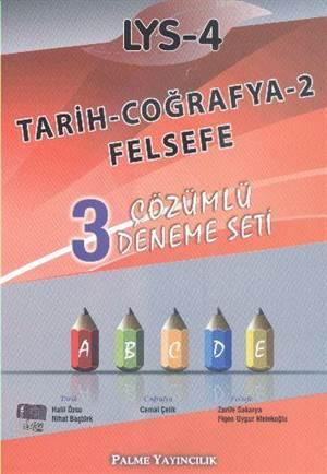 LYS-4 Çözümlü Deneme Seti; Tarih - Coğrafya-2 - Felsefe