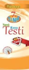 Palme Yaprak Test 7.Sınıf Türkçe