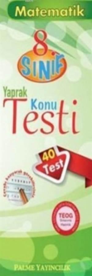8.Sınıf Matematik Yaprak Test