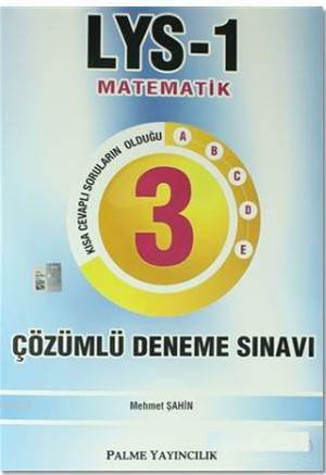 LYS 1 Matematik 3  ...