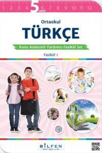 Ortaokul Türkçe 5 Konu Anlatımlı Yardımcı Fasikül Set