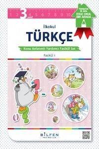 İlkokul 3. Sınıf Türkçe Konu Anlatımlı Yardımcı Fasikül Set – Ödev Fasiküller