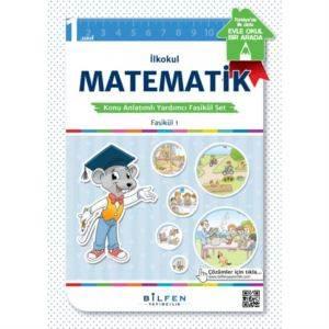 İlkokul 1. Sınıf Matematik Konu Anlatımlı Yardımcı Fasikül Set – Ödev Fasikülleri