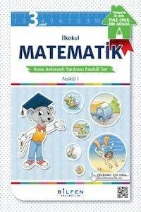 İlkokul 3. SınıfMatematikKonu Anlatımlı Yardımcı Fasikül Set – Ödev Fasikülleri