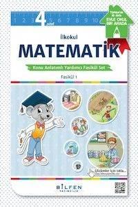 İlkokul 4. SınıfMatematikKonu Anlatımlı Yardımcı Fasikül Set – Ödev Fasikülleri