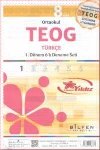 Teog 6'lı  8.Sınıf Türkçe Paket Deneme Seti