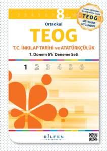 Teog 6'lı  8.Sınıf T.C. İnkılap Tarihi ve Atatürkçülük Paket Deneme Seti