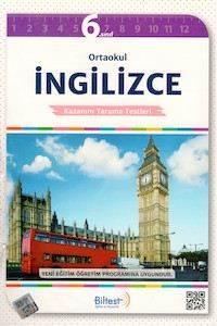 BİLTEST Ortaokul İngilizce 6 Kazanım Tarama Testleri