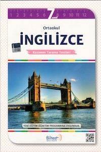 BİLTEST Ortaokul İngilizce 7 Kazanım Tarama Testleri