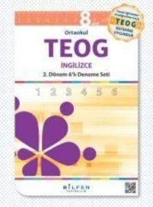 Teog 6'lı  8.Sınıf 2. Dönem İngilizce Paket Deneme Seti