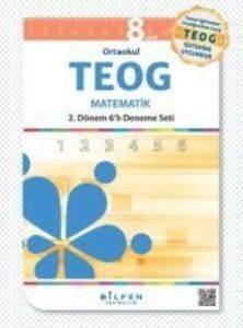 Teog 6'lı  8.Sınıf 2. Dönem Matematik Paket Deneme Seti