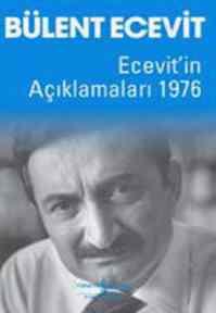 Ecevit'in Açıklamaları 1976