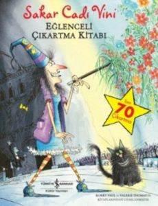 Sakar Cadı Vini Eğlenceli Çıkartma Kitabı