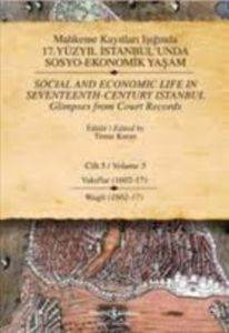 17.Yüzyıl İstanbul'unda Sosyo-Ekonomik Yaşam Vol.5